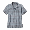 Patagonia Mens A/C Shirt Fallow: Dusk Blue
