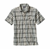 Patagonia Mens A/C Shirt Los Padres: Distilled Green
