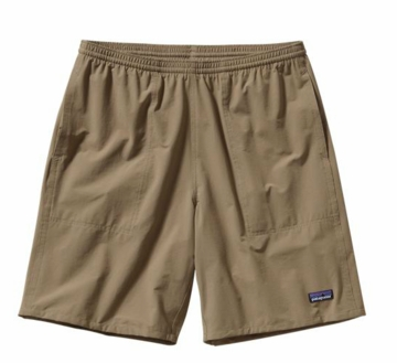 "Patagonia Mens Baggies Stretch Shorts 9"" Ash Tan (Past Season)"
