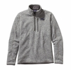 Patagonia Mens Better Sweater 1/4 Zip Fleece Stonewash