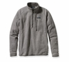 Patagonia Mens Better Sweater Fleece 1/4 Zip Stonewash
