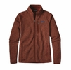 Patagonia Mens Better Sweater Fleece Jacket Cinder Red