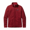 Patagonia Mens Better Sweater Fleece Jacket Classic Red