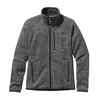 Patagonia Mens Better Sweater Fleece Jacket Nickel w/ Forge Grey Large