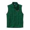 Patagonia Mens Better Sweater Fleece Vest Hunter Green