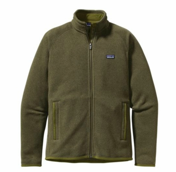 Patagonia Mens Better Sweater Jacket Willow Herb Green (Spring 2014)