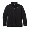 Patagonia Mens Better Sweater Quarter Zip Fleece Black