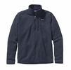 Patagonia Mens Better Sweater Quarter Zip Fleece Classic Navy
