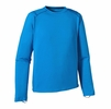 Patagonia Mens Capilene 1 Silkweight Crew Andes Blue
