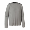 Patagonia Mens Capilene 1 Silkweight Crew Feather Grey w/ Feather Grey