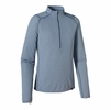 Patagonia Mens Capilene 2 Lightweight Zip Neck Glass Blue w/ Leaden Blue