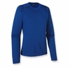 Patagonia Mens Capilene 3 Midweight Crew Classic Navy: Viking Blue X-Dye