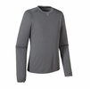 Patagonia Mens Capilene 3 Midweight Crew Forge Grey w/ Nickel X-Dye
