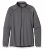 Patagonia Mens Capilene 3 Midweight Zip Neck Forge Grey: Nickel X-Dye XL