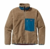 Patagonia Mens Classic Retro-X Fleece Jacket Ash Tan