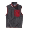 Patagonia Mens Classic Retro-X Fleece Vest Forge Grey