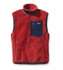Patagonia Mens Classic Retro-X Vest Cochineal Red