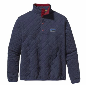 Patagonia Mens Diamond Quilt Snap-T Pullover Classic Navy (Autumn 2013)