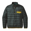 Patagonia Mens Down Snap-T Pullover Carbon