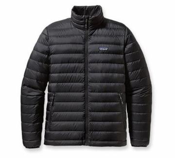 Patagonia Mens Down Sweater Jacket Black