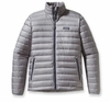 Patagonia Mens Down Sweater Jacket Feather Grey
