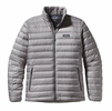 Patagonia Mens Down Sweater Jacket Feather Grey w/ Forge Grey