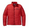 Patagonia Mens Down Sweater Jacket French Red