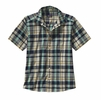 Patagonia Mens Fezzman Shirt Sisquoc: Distilled Green