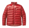 Patagonia Mens Fitz Roy Down Jacket Cochineal Red Small