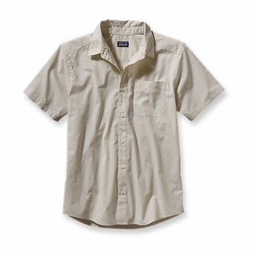 Patagonia Mens Go To Shirt Pismo Stripe: Raw Linen (Spring 2014)