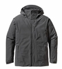 Patagonia Mens Insulated Powder Bowl Jacket Forge Grey (Autumn 2013)