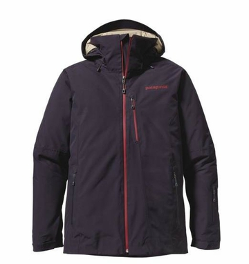 Patagonia Mens Insulated Powder Bowl Jacket Graphite Navy (Autumn 2013)