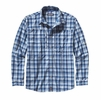 Patagonia Mens L/S Sun Stretch Shirt Dunmore: Channel Blue