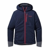 Patagonia Mens Levitation Hoody Navy Blue