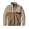 Patagonia Mens Lightweight Synchilla Snap-T Fleece Pullover Ash Tan