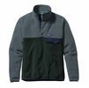 Patagonia Mens Lightweight Synchilla Snap-T Fleece Pullover Carbon