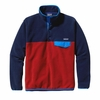 Patagonia Mens Lightweight Synchilla Snap-T Fleece Pullover Classic Navy (Autumn 2014)