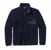 Patagonia Mens Lightweight Synchilla Snap-T Fleece Pullover Navy Blue