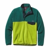Patagonia Mens Lightweight Synchilla Snap-T Fleece Pullover Peppergrass Green
