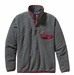 Patagonia Mens Lightweight Synchilla Snap-T Pullover Nickel w/ Wax Red