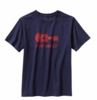 Patagonia Mens Live Simply Guitar T-Shirt Classic Navy  (Past Season)