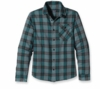 Patagonia Mens Long Sleeve Iron Ridge Shirt Gaston: Captains Blue (Autumn 2013)