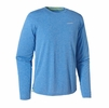 Patagonia Mens Long-Sleeve Nine Trails Shirt Andes Blue