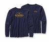 Patagonia Mens Long-Sleeved Dry Fly T-Shirt Classic Navy