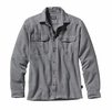 Patagonia Mens Long-Sleeved Fjord Flannel Shirt Feather Grey