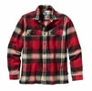 Patagonia Mens Long-Sleeved Fjord Flannel Shirt Terrace: Classic Red