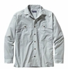 Patagonia Mens Long-Sleeved Island Hopper Shirt Bahia: Polar Blue (Spring 2014)