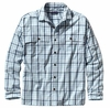 Patagonia Mens Long-Sleeved Island Hopper Shirt Matacumbe: Clear Pool