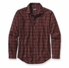 Patagonia Mens Long-Sleeved Pima Cotton Shirt Harding: Black