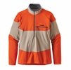 Patagonia Mens Long-Sleeved R1 Field 1/4-Zip El Cap Khaki